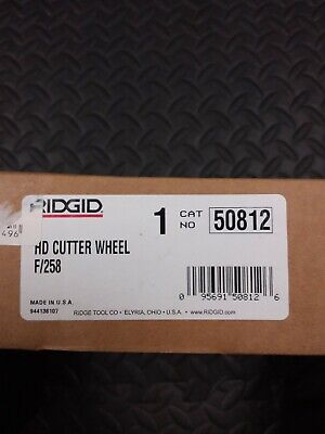 Ridgid Hd Cutter Wheel Cat No 50812