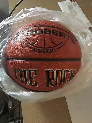 New Official The Rock Mens Boys C2c 29 5  Game Ball Basketball Deep Pebble