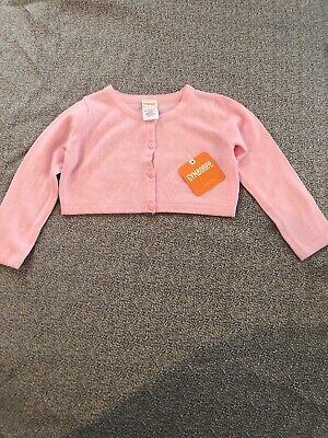 - NWT Gymboree baby girl pink SPRING shrug cardigan sweater EASTER 12 18 24 2T 3T