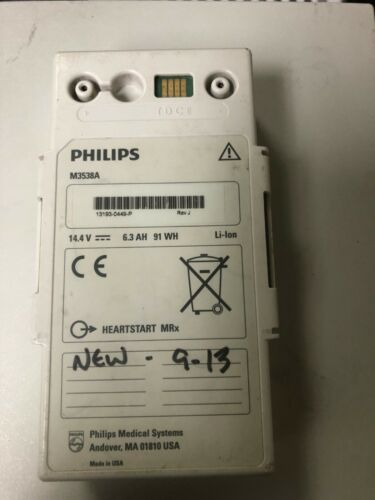 Philips M3538A Rechargeable Li-Ion Battery for Heartstart MRx - Used