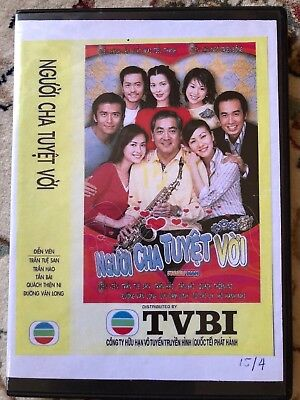 NGUOI CHA TUYET VOI -  PHIM BO HONGKONG - 4 DVD