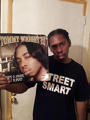 """TOMMY WRIGHT III ASHES TO ASHES,DUST TO DUST""""12 INCH""""POSTER/MEMPHIS RAP"""