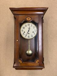 Howard Miller Wall Mantle 8-Day Clock Westminster Chime 613-152