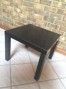 SA: Black square coffee table small Auldana Burnside Area Preview