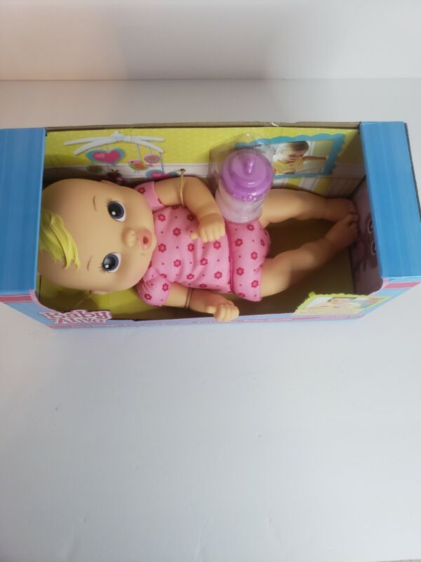 Hasbro Baby Alive Luv N Snuggle Baby Doll Blonde With Bottle Hasbro