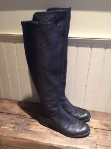 Women's 8 Tall Michael Kors Leather Boots