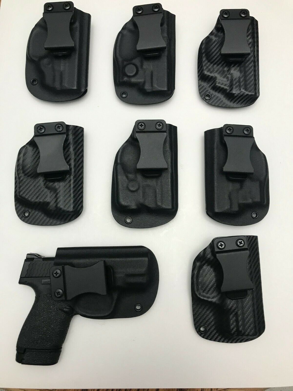 IWB concealment holster for Glock G48 with laser or light