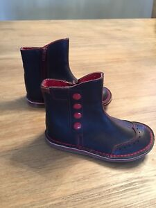 Camper- kids leather boots