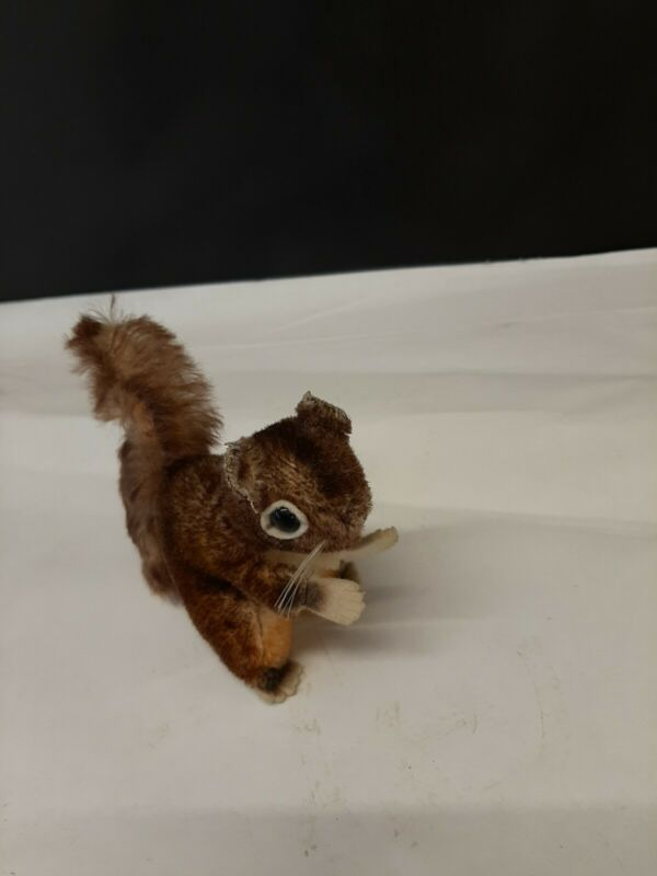 Steiff Original Perri Squirrel Walt Disney Productions Vintage