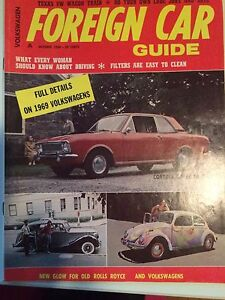 Foreign Car Guide, Oct 1968