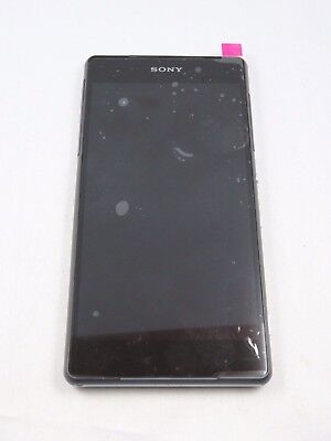 Original, Sony Xperia Z2 Model D6503 Display + Digitizer + Rahmen black  ()