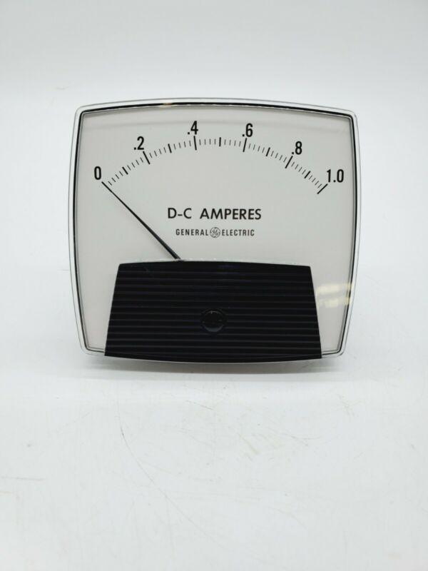 GE D-C Amperes 0-1.0 50-171111LALA1