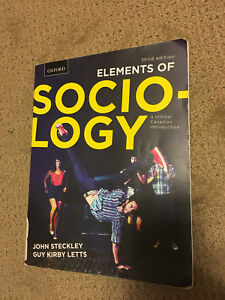 Elements of Sociology 3rd edition