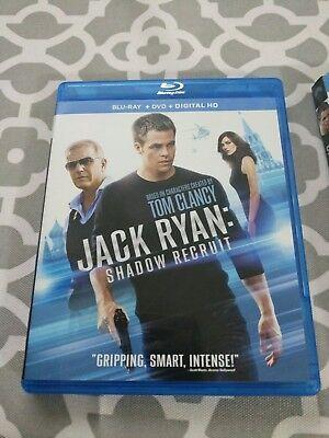 Jack Ryan: Shadow Recruit (Blu-ray/DVD, 2014, 2-Disc Set, Includes Digital Copy)