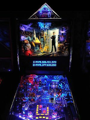 SMALL TWILIGHT ZONE PINBALL PYRAMID TOPPER LIMITED QUANITY