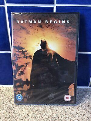 Batman Begins Christian Bale - NEW Region 2 DVD