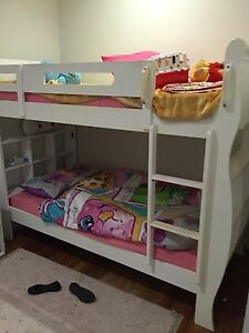Bunk beds with mattress 200$ Roxburgh Park Hume Area Preview
