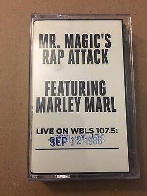 Mr Magic's Rap Attack W/ DJ Marley Marl 9-12-86 Cassette Mixtape Tape