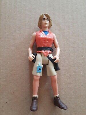Jurassic Park JP Dr Ellie Sattler Toy Action Figure Kenner Original 1993