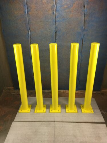 """Safety Bollards - 48"""" Tall - Schedule 40 Pipe"""