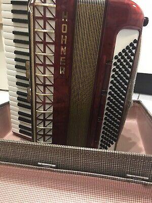 Hohner Piano Accordion 120 Bass