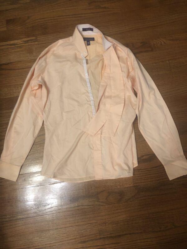 Womens Equestrian Show Shirt Essex Classics Coolmax Performance Size 40 Peach