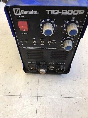 Simadre Tig 200p Small Portable Tig Welder C-x