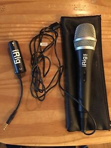 iRig Mic and iRig for guitar