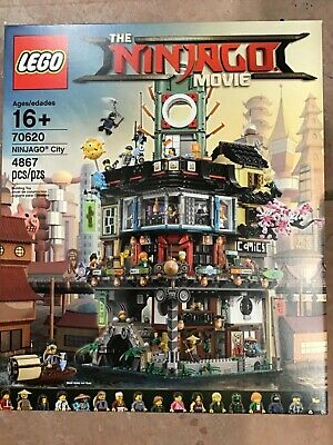 LEGO Ninjago Movie Ninjago City 70620 (4867 Piece) NEW SEALED