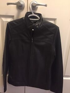 Ladies Leather Jacket -Size Small
