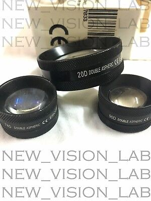 90d 20d 78d Aspheric Non Contact Lens For Ophthalmology And Optometry
