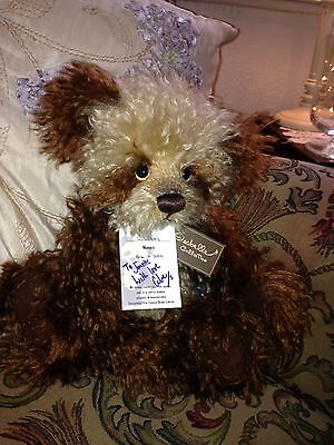 Wookey Charlie Bear Limited Edition With Tags