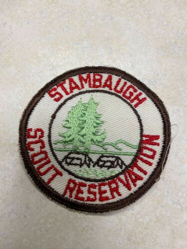 Stambaugh Scout Reservation Cut Edge Twill Camp Patch
