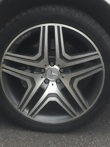 5 Mags Mercedes ML63 AMG - 5 Wheels 21 inch 10inch