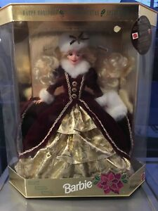 1996 Christmas collectable Barbie