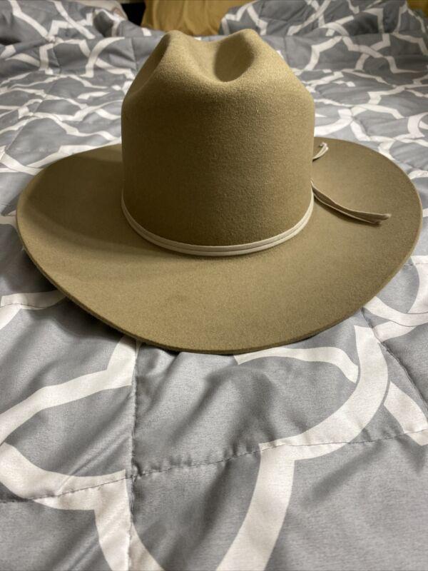 stratton us border patrol cowboy hat 7 5/8