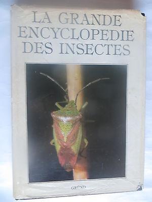 La grande encyclopédie des insectes – Gründ - Jaquette abîmée -
