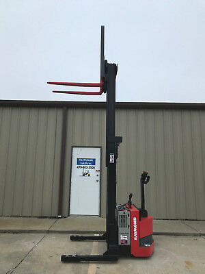 2008 Raymond Rss40 Walk Behind Forklift Straddle - Very Nice 128 3750lb