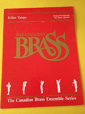 Killer Tango, Brass Quintet, Sonny Kompanek, Canadian Brass