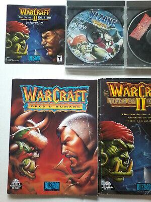 WarCraft: Orcs & Humans (PC, 1994) wBlizzard warcraft2 battlenet w!zone