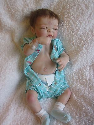 OOAK Reborn Newborn BABY Twin Maggie  Doll Anatomically correct Girl