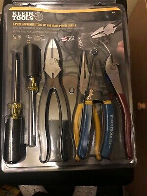 Klein Tools Apprentice Electrical Tool Set 94126 6 Piece 94126 Brand New