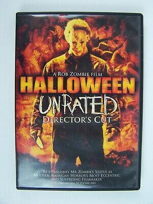 Halloween - Unrated Director's Cut DVD A Rob Zombie Film - Halloween Director Rob Zombie