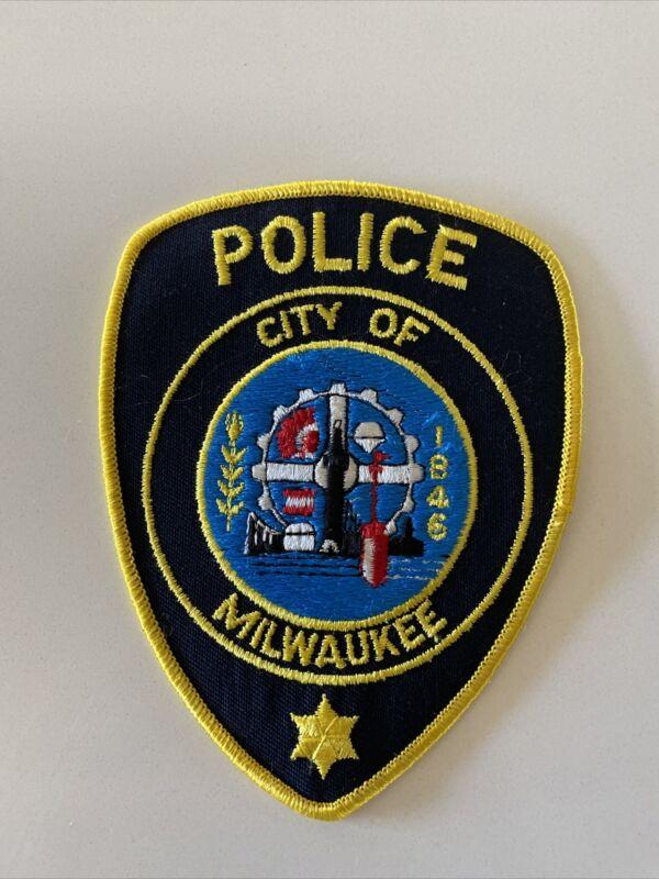 City Of Milwaukee Wisconsin Police Patch New