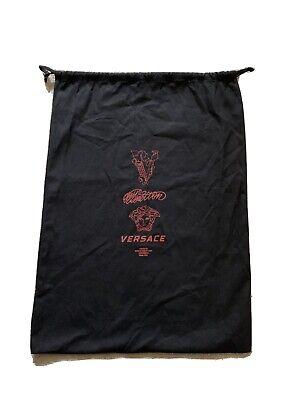 VERSACE CHAIN REACTION Black Dust Bag 35x35cm