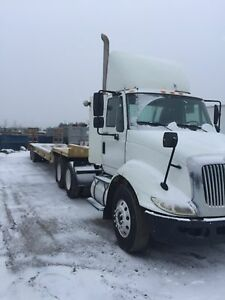 2009 international 8600 SBA Transtar truck tractor