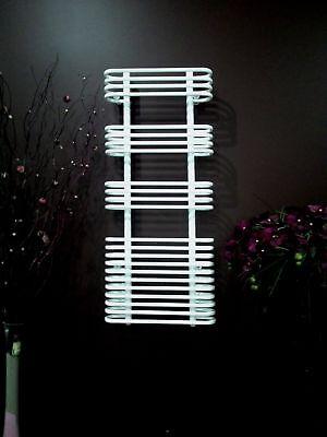 Radiateur sèche-serviettes design Sanifun Simona Blanc 120 x 50.