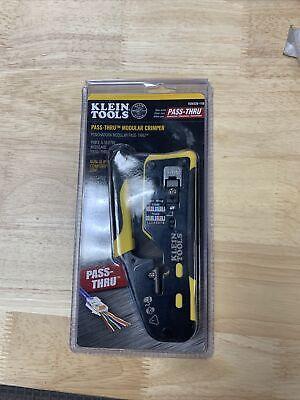 Klein Tools Vdv226-110 Wire Crimper Cutter Stripper Pass-thru Modular Tool New