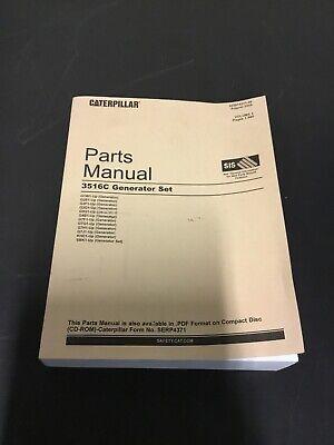 Caterpillar Cat Parts Manual Generator Set 3516c - Sebp4371-09