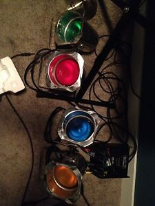 4 Par Can Stage lights with controller